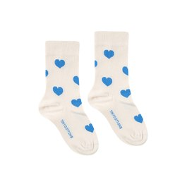 愛心中筒襪