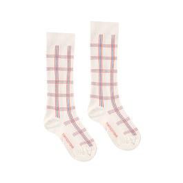 學院風格紋及膝襪