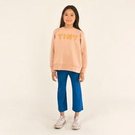 TINY 膚粉色薄款衛衣(版型偏大)
