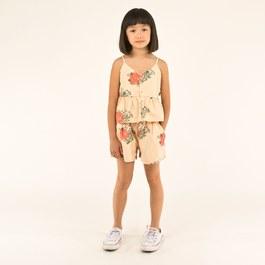 夏日香氣平織短褲(版型偏大)