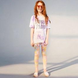 Tula粉大理石紋leggings