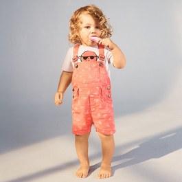 Baby Chester 冰淇淋吊帶短褲