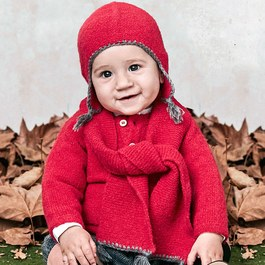 Baby 喜氣洋洋針織套頭衫