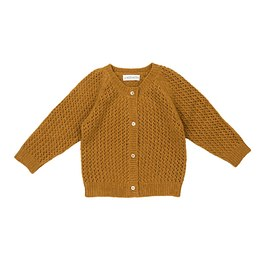 Baby Petit Jour鏤空羊毛針織外套