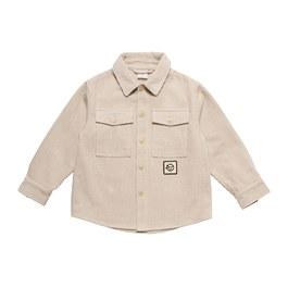 薄款燈芯絨襯衫外套