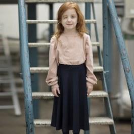Greta 學院風飄飄中長裙