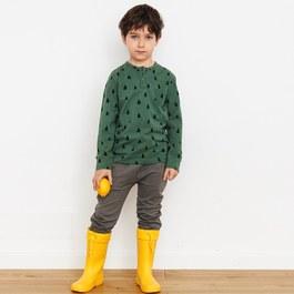 Banana Face 有機棉休閒長褲