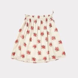 Aetna 英式花朵薄棉及膝裙