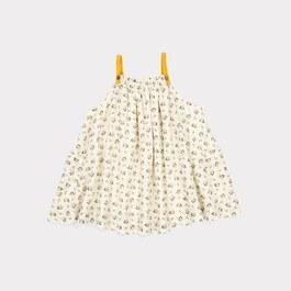 Baby 四葉草絲棉洋裝