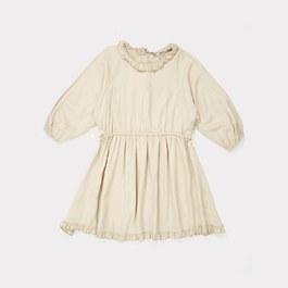 Artemis 荷葉領絲質洋裝(版型偏大)