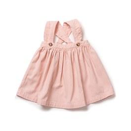 Baby 糖果粉吊帶洋裝