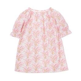 Charlie 粉色花朵洋裝