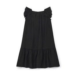 Colette 皺棉中長版洋裝