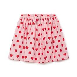 愛心薄棉圓裙