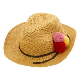 球球編織草帽
