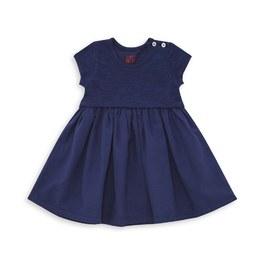 Baby 棉質素色小洋裝