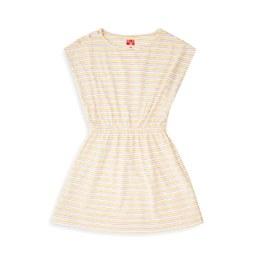 奶昔條紋洋裝