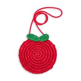 蘋果造型斜背小包包