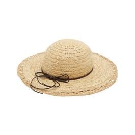 拉菲草編織寬簷帽