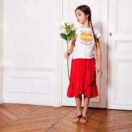 墨西哥紅倫巴裙