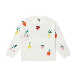 水果棉質針織上衣(薄款)