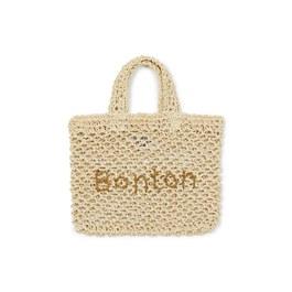 Bonton 紙纖編織手提袋(S)