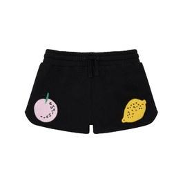 水果徽章運動小短褲