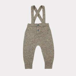 Baby Gopher美麗諾羊毛吊帶褲