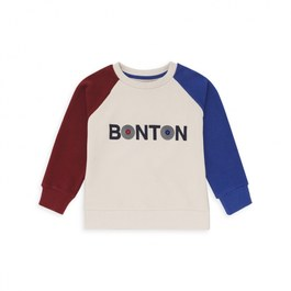 Bonton 撞色刷毛衛衣