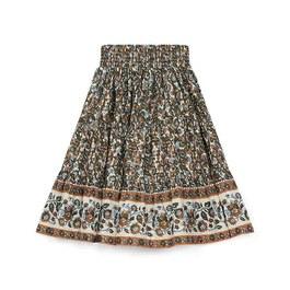 波西米亞風薄棉中長裙