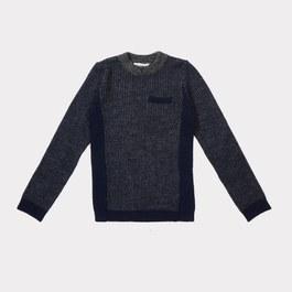 Jaguar 羊毛上衣_深海藍(合身版型)