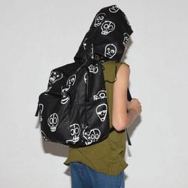 骷髏面具後背包(S)
