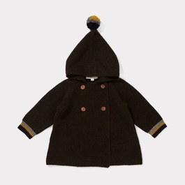 Baby Lemur 混氂牛毛針織外套