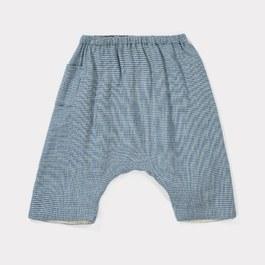 Baby Lizard千鳥紋棉質飛鼠褲