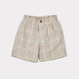 Lupine 格紋平織短褲