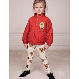 紅寶石鋪棉薄款夾克