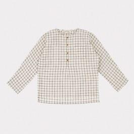 Pimlico格紋頂級薄棉無領襯衫