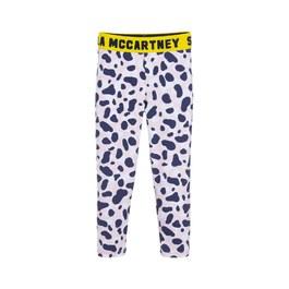 粉豹紋運動彈性leggings
