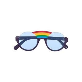 藍色彩虹太陽眼鏡