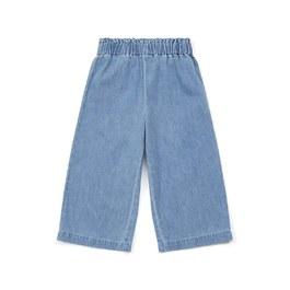 輕薄款丹寧八分褲