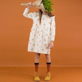 櫻桃微刷毛洋裝(版型偏大)